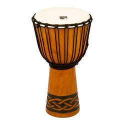Toca 10-Inch Origins Wooden Celtic Knot Djembe