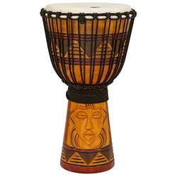 Toca Origin Series Tribal Mask 12 Inch Djembe