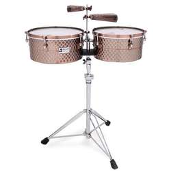 Toca Pro Line Timbale Set In Black Copper TPT1415BC