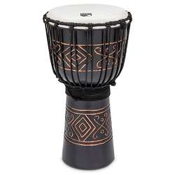 "Toca 10"" Street Series Djembe Carved Onyx Pattern TSSDJMBO"