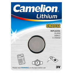 Camelion TOSHCR2032 3V Lithium CR2032 Battery