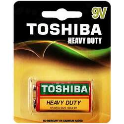 Toshiba 9V Heavy Duty Alkaline Battery