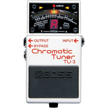 Boss Tu3 Chromatic Stage Tuner Pedal