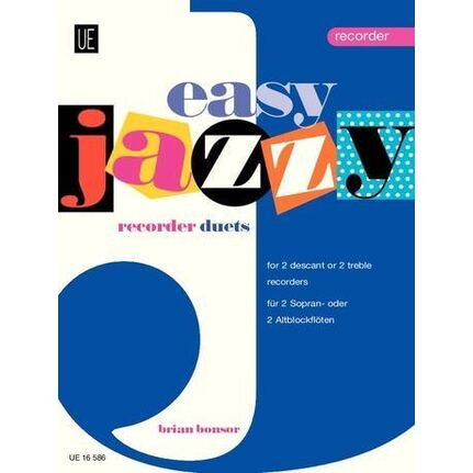 Easy Jazzy Recorder Duets