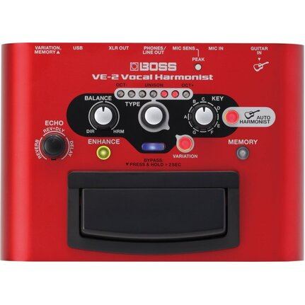 Boss Ve-2 Vocal Harmonist Stompbox Pedal