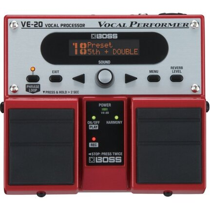 Boss Ve20 Vocal Fx & Harmony Processor Pedal