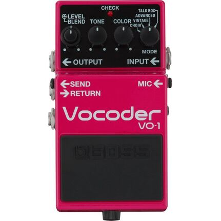 Boss VO-1 Vocoder Vocal Effects Pedal