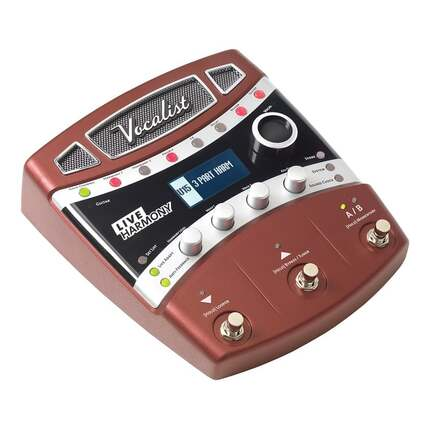 Digitech Live Harmony Vocal Effects Unit with Sound Check and Live Adapt