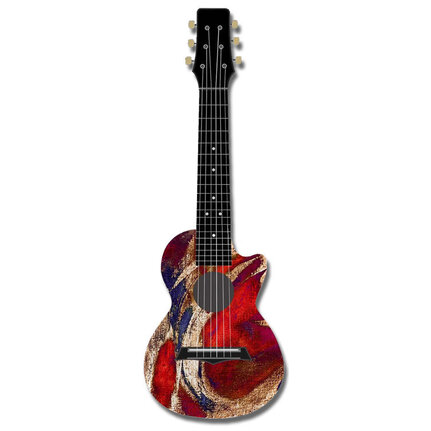 Kealoha Guitalele In Surfing Usa Design
