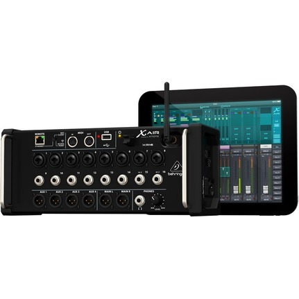 Behringer X AIR XR16 16-Input Digital Mixer for iPad/Android Tablets with MIDAS Preamps
