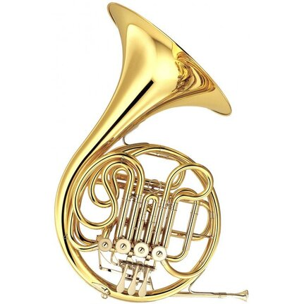 Yamaha YHR567 Intermediate F/B-Flat 4V French Horn Lacquer