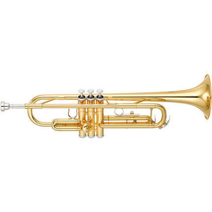 Yamaha Ytr3335 B Flat Trumpet Gold Lacquer