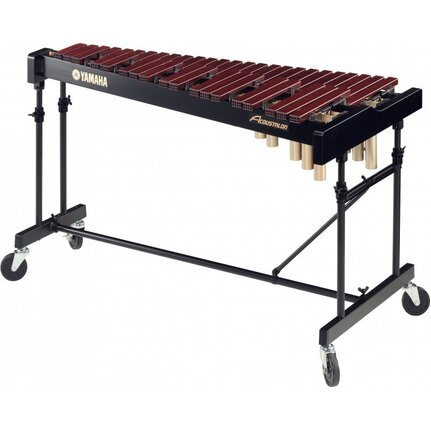 Yamaha XY500F Acoustalon Bars Model Xylophone With 3 1/2 octaves f1-c5