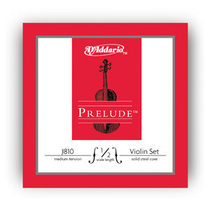 D'Addario Violin String Set  1/2 Size