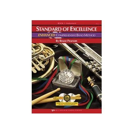 Standard Of Excellence Enhanced Bk 1 Clarinet. Book/Cd/Dvd