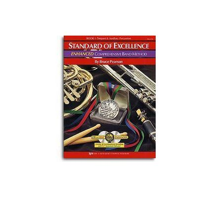 Standard Of Excellence Enhanced Bk 1 Percussion/Drums/Mallet Book/Cd/Dvd