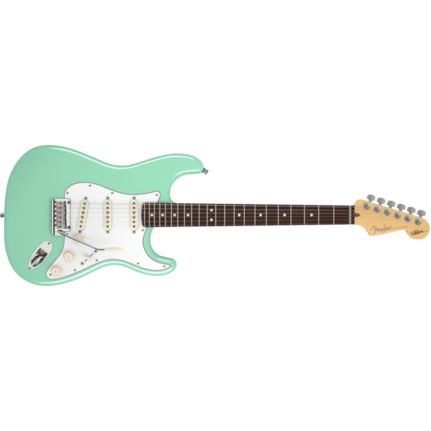 Fender JEFF BECK STRAT RW Surf Green Electric Guitar in Case