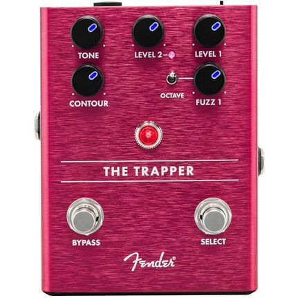 Fender The Trapper Dual Fuzz Guitar Effects Pedal