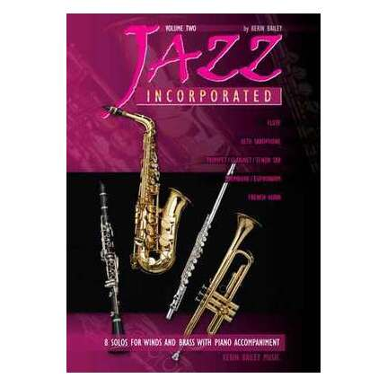Jazz Incorporated Vol 2 Flute/Piano