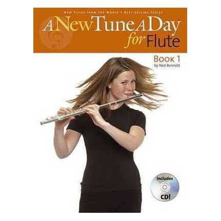 A New Tune A Day Flute Book 1 Bk/CD