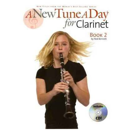 A New Tune A Day Clarinet Book 2 Bk/CD