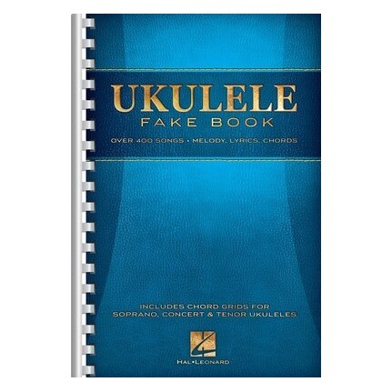 Ukulele Fake Book 6x9 Spiral