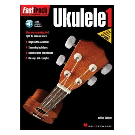 FastTrack Ukulele 1 Bk/Online Audio