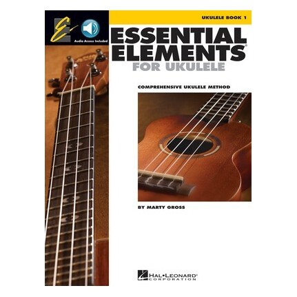 Essential Elements For Ukulele Book 1 Bk/Online Audio
