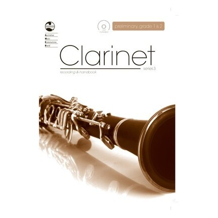 Clarinet Recording and Handbook Preliminary to Grade 2 Series 3 Bk/CD AMEB