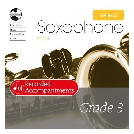 Tenor Sax Grade 3 Series 2 Recorded Accompaniments CD AMEB