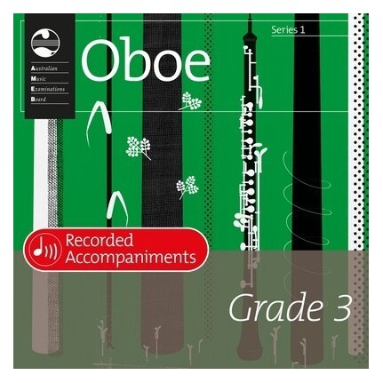 Oboe Grade 3 Series 1 Recorded Accompaniments CD AMEB