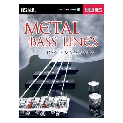 Metal Bass Lines Bk/Online Audio