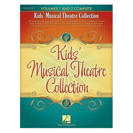 Kids' Musical Theatre Collection Vocal Solo Vol 1 & Vol 2