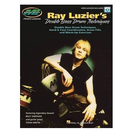 Ray Luziers Double Bass Drum Techniques Bk/Online Video
