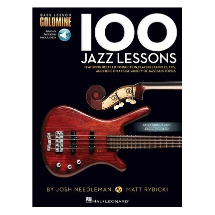 100 Jazz Lessons Bk/Online Audio