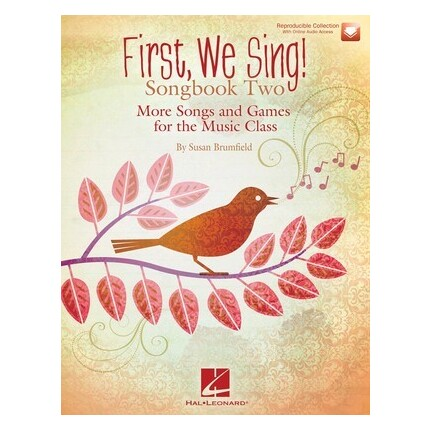 First We Sing! Songbook Two Bk/CD