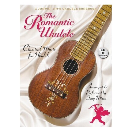 The Romantic Ukulele (Classical Music) Bk/CD