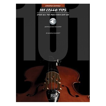 101 Cello Tips Updated Edition Bk/Online Audio