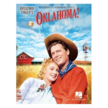 Oklahoma! Broadway Singer's Edition Bk/Online Audio
