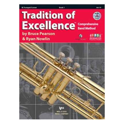Tradition Of Excellence Trumpet Bk 1 Bk/DVD