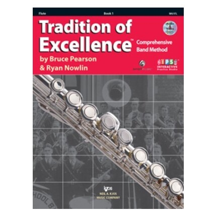 Tradition Of Excellence Flute Bk 1 Bk/DVD