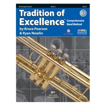 Tradition Of Excellence Trumpet Bk 2 Bk/DVD