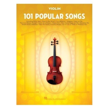 101 Popular Songs For Violin