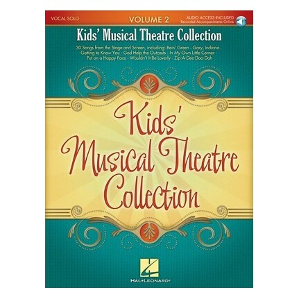 Kids Musical Theatre Collection Vol 2 Bk/Audio