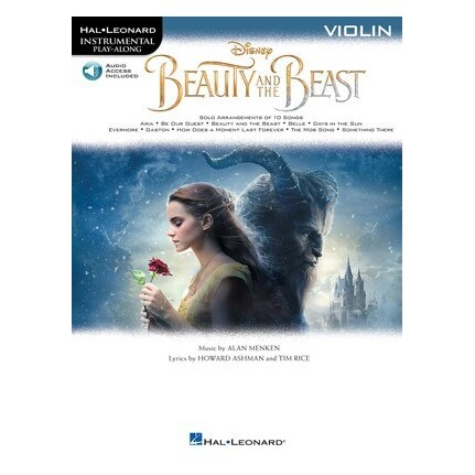 Beauty And The Beast For Violin Bk/Online Audio