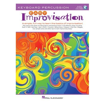 Easy Improvisation For Keyboard Percussion Bk/Online Audio