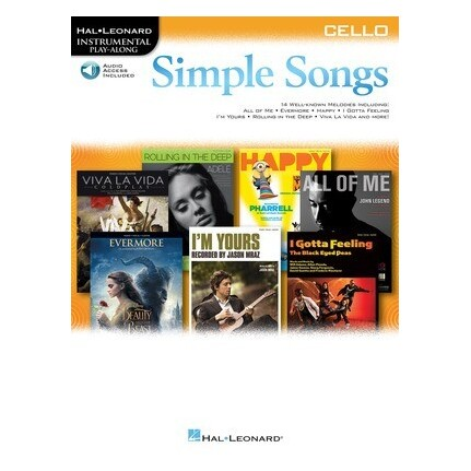 Simple Songs For Cello Bk/Online Audio
