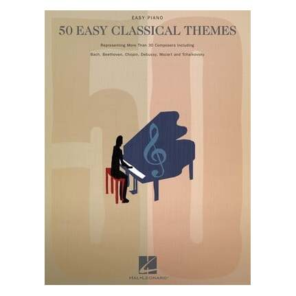50 Easy Classical Themes Easy Piano