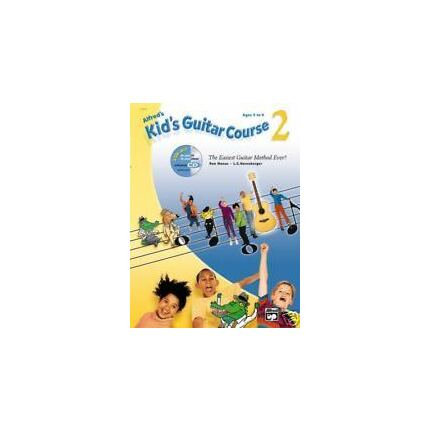 Alfred's Kids Guitar Course Level 2 BK/eCD/DVD