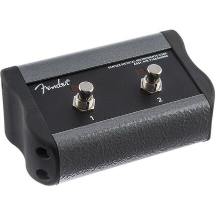 Fender 2-button Footswitch, Acoustic Pro/sfx®, Black